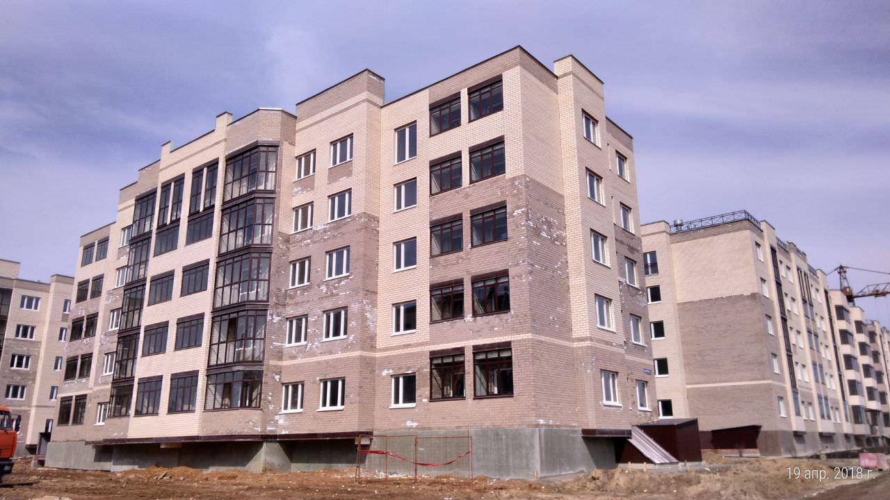korpus.3 - Дом 3 - Завершены работы по остеклению лоджий и балконов