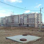 korpus 15.. 150x150 - Дом 10 - Производится обвязка колонн 3-го этажа секции 2.