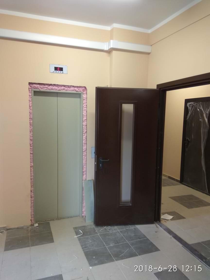 k 2 mop - Дом 2 - Производится монтаж и пуско-наладочные работы лифта.