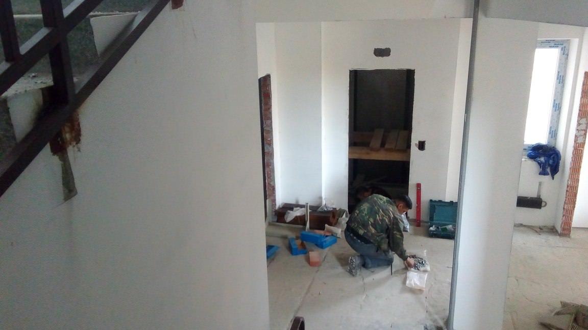 korpus 1 s 2 sborka kabinylifta - Дом 1 - В секции 2 производятся работы по сборке кабины лифта