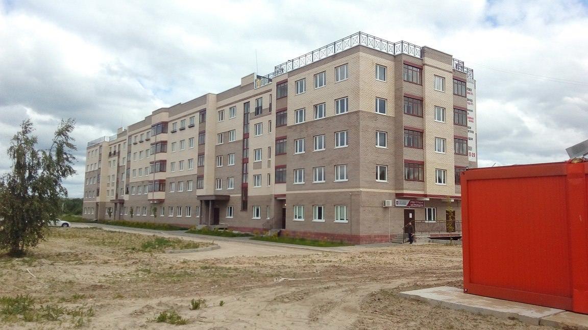 korpus 15. - Дом 15 - Установлены входные двери в квартиры