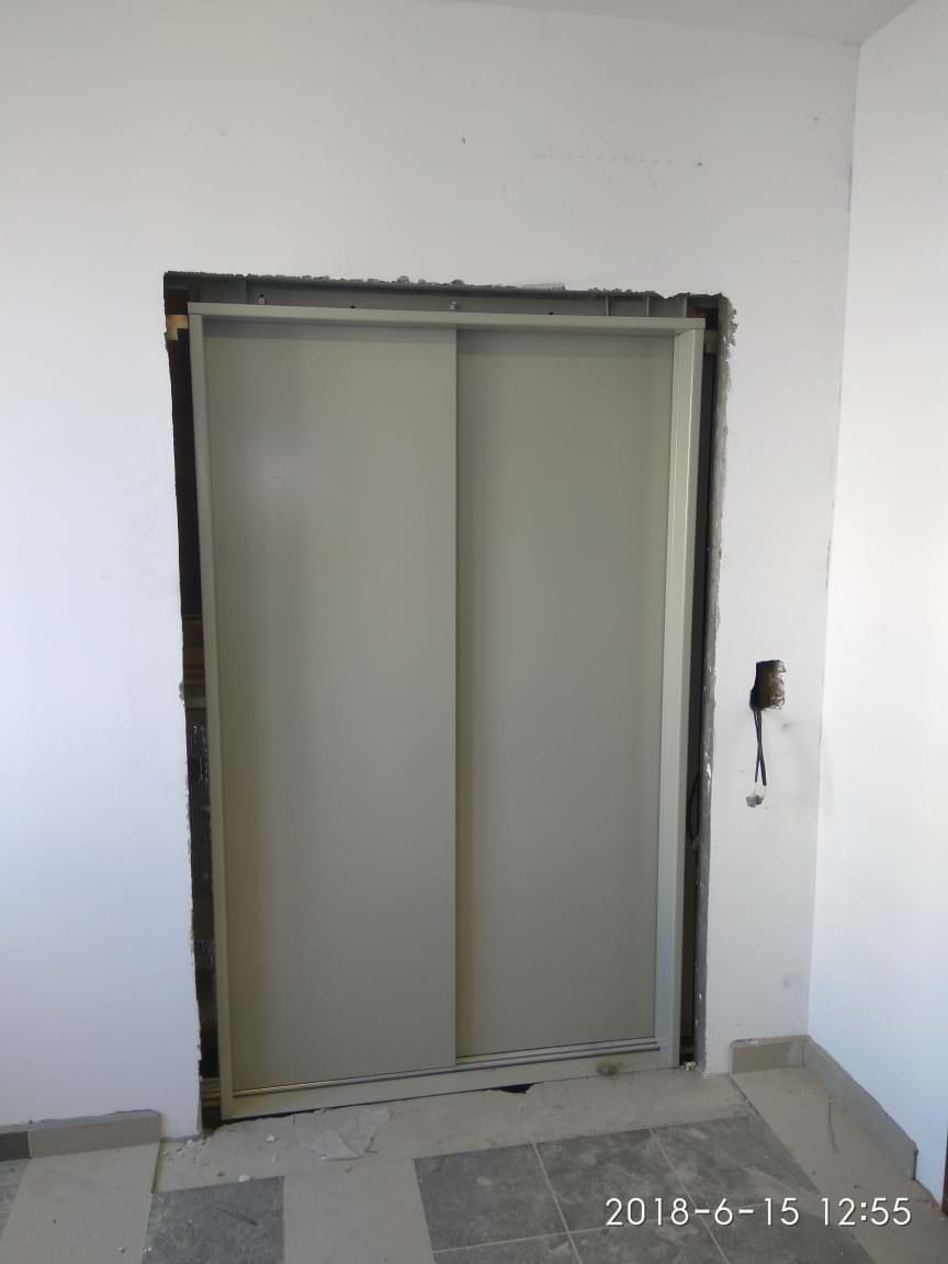 korpus 3.. - 15 июня 2018 / Дом 3 - Производится установка входных порталов  лифта на этажах