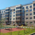 korpus 4. 150x150 - 15 июня 2018 / Дом 3 - Производится установка входных порталов  лифта на этажах