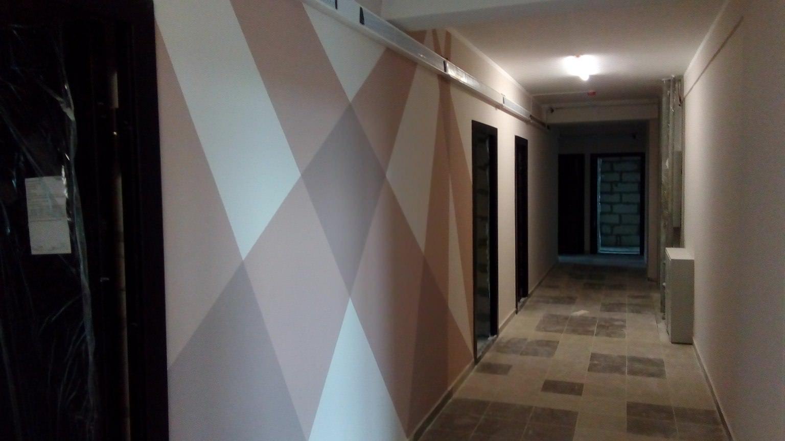 korpus 6 s 3 - Дом 6 - в секции 3 произведен окрас стен в МОПах