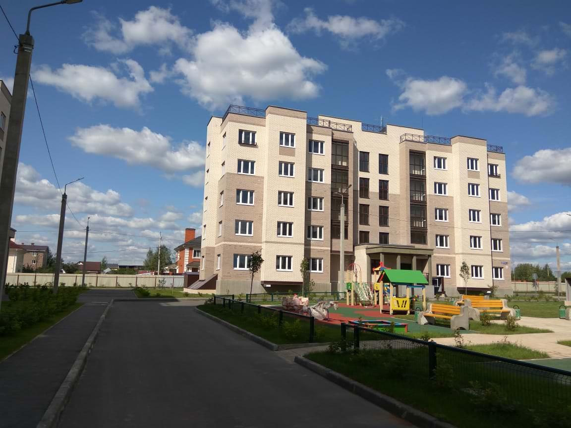 korpus 2 1 - 23 августа 2018 / Дом 2 - Строительство завершено, получен ЗОС