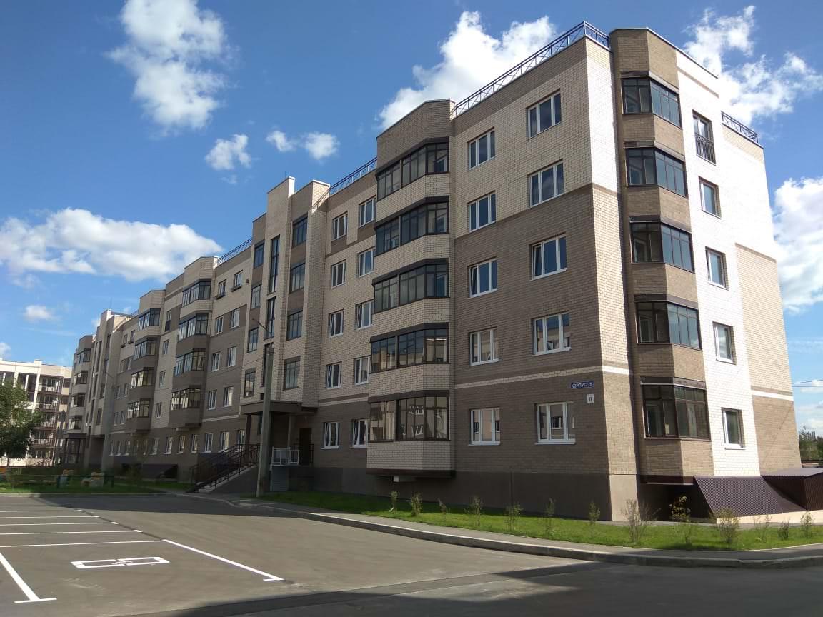 korpus 5 1 - 23 августа 2018 / Дом 5 - Строительство завершено, получен ЗОС