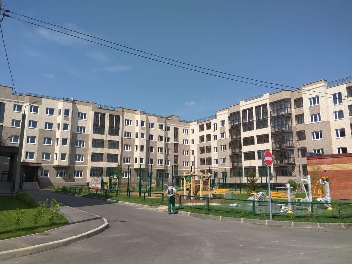 korpus 6 dvor - 3 августа 2018 / Дом 6 - Строительство завершено, получен ЗОС