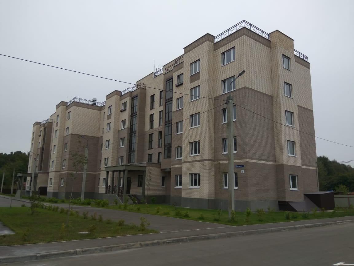 korpus 1 1 - 12 сентября 2018 / Дом 1 - Строительство завершено, получен ЗОС