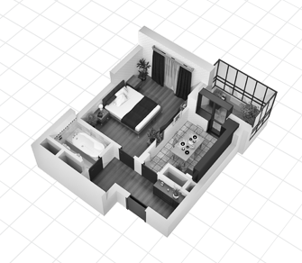 kvartira v3 - Варианты отделки