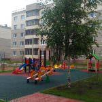 detskaya ploshhadka k 6 150x150 - Дом 15 - Завершены отделочные работы в шоурумах