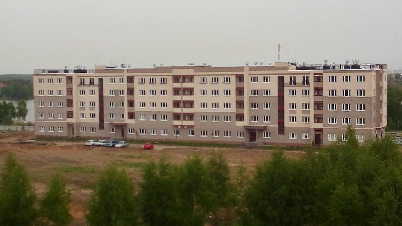 korpus .15 - Дом 15 - Завершены работы по монтажу входных группы