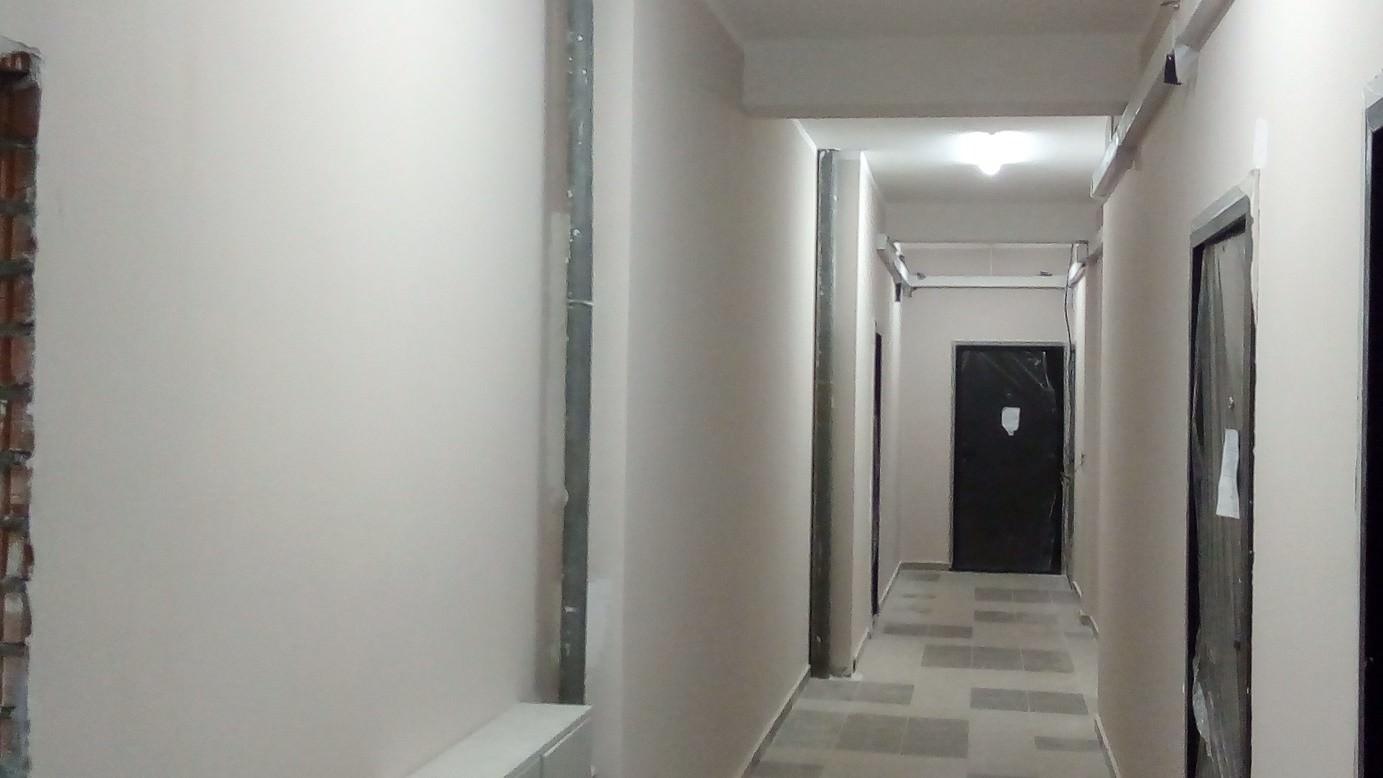korpus 6 s 3 okras - Дом 6 - В секции 3: произведен окрас стен в МОПах