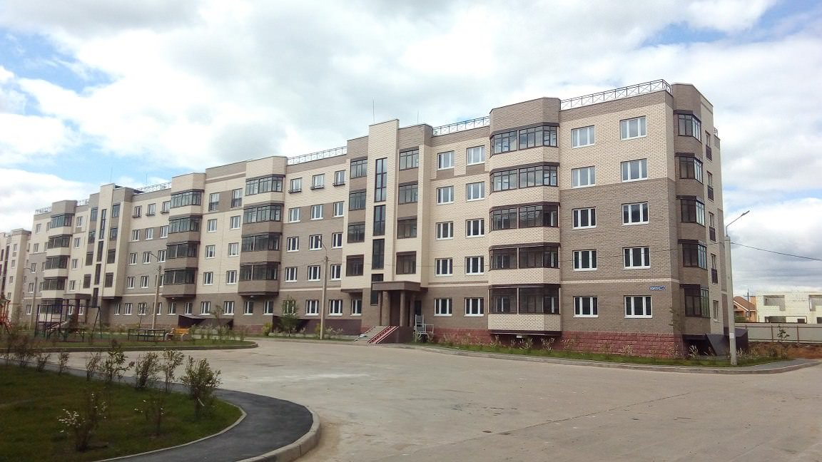 korpus 4 - 1 июня 2018 / Дом 4 - Дом готов на 100%.