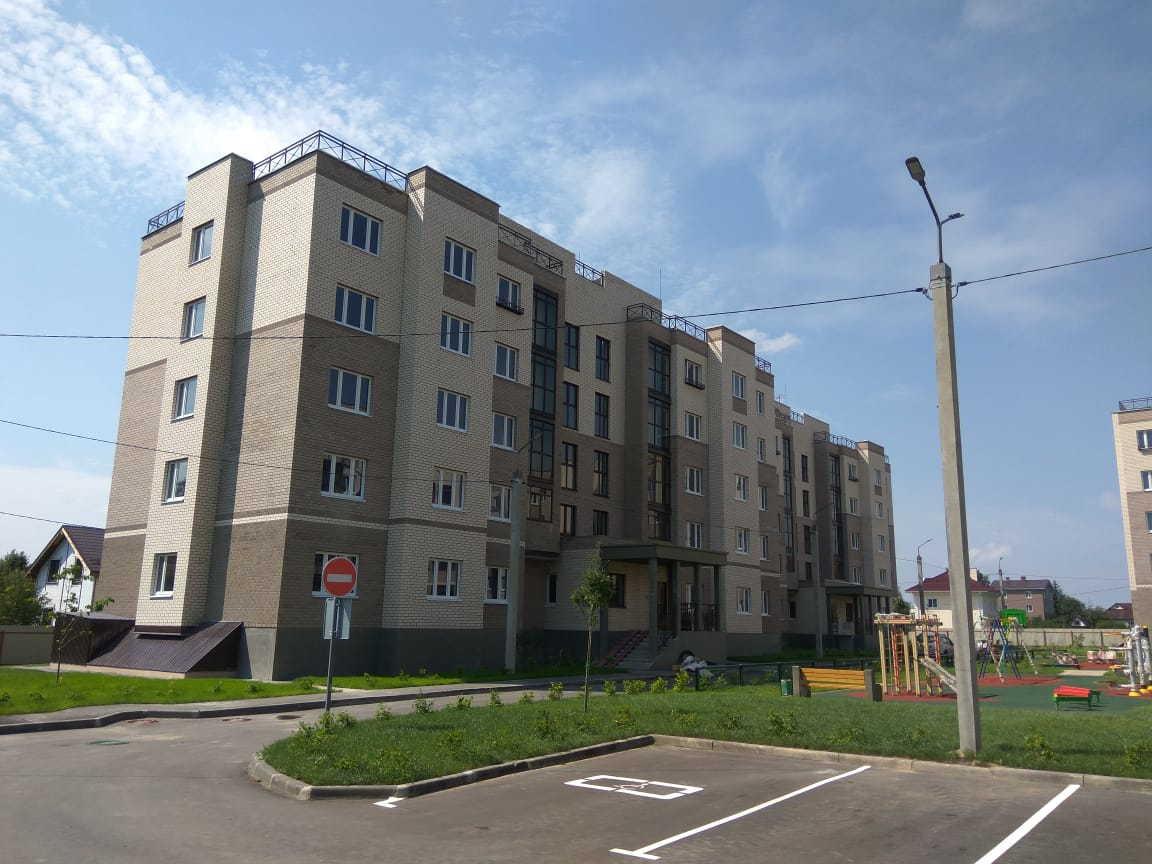 korpus .1 - 25 июля 2018 / Дом 1 - Строительство завершено, получен ЗОС