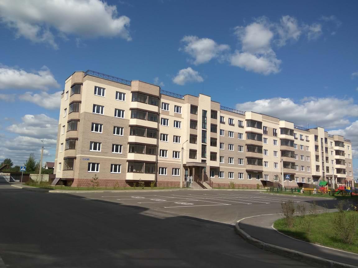 korpus 4 - 23 августа 2018 / Дом 4 - Строительство завершено, получен ЗОС