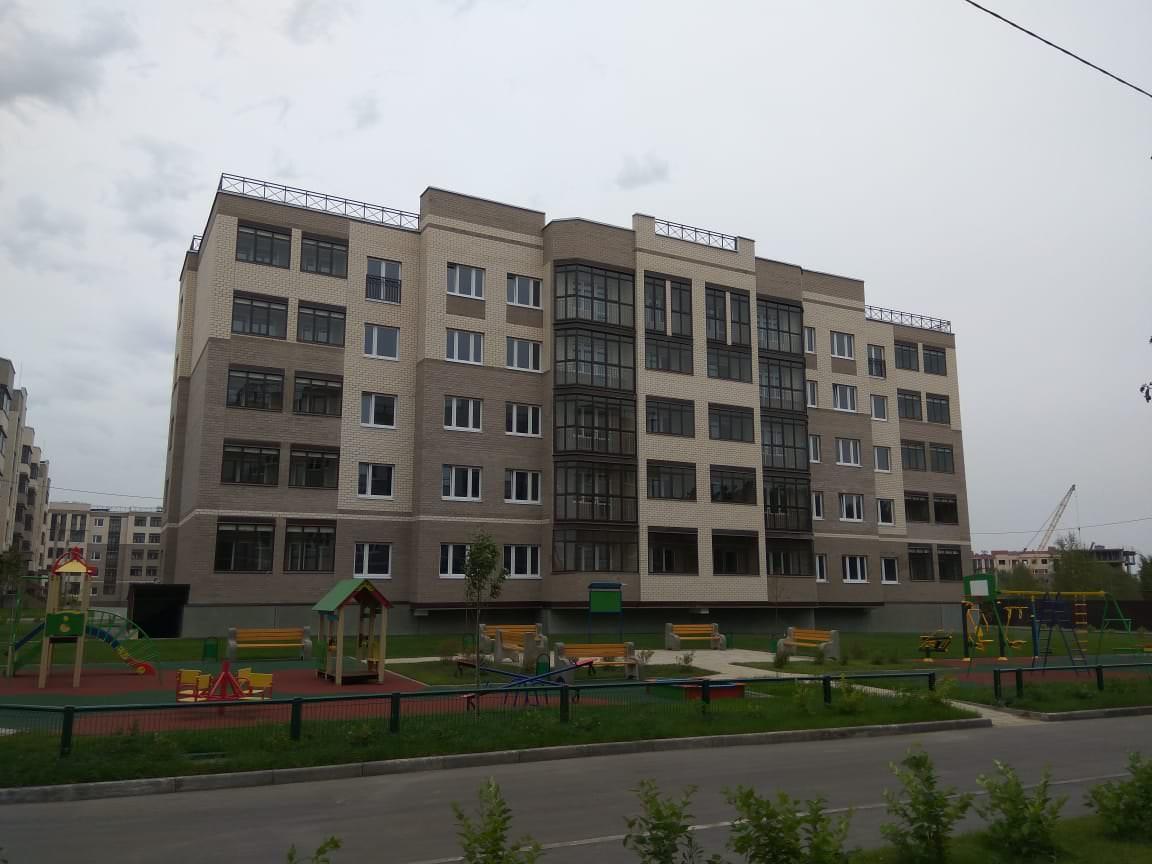 korpus 3 1 - 12 сентября 2018 / Дом 3 - Строительство завершено, получен ЗОС