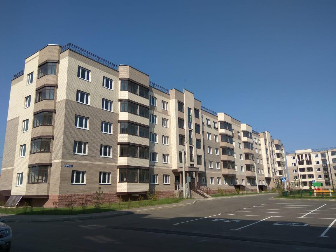 korpus 4 - 6 сентября 2018 / Дом 4 - Строительство завершено, получен ЗОС