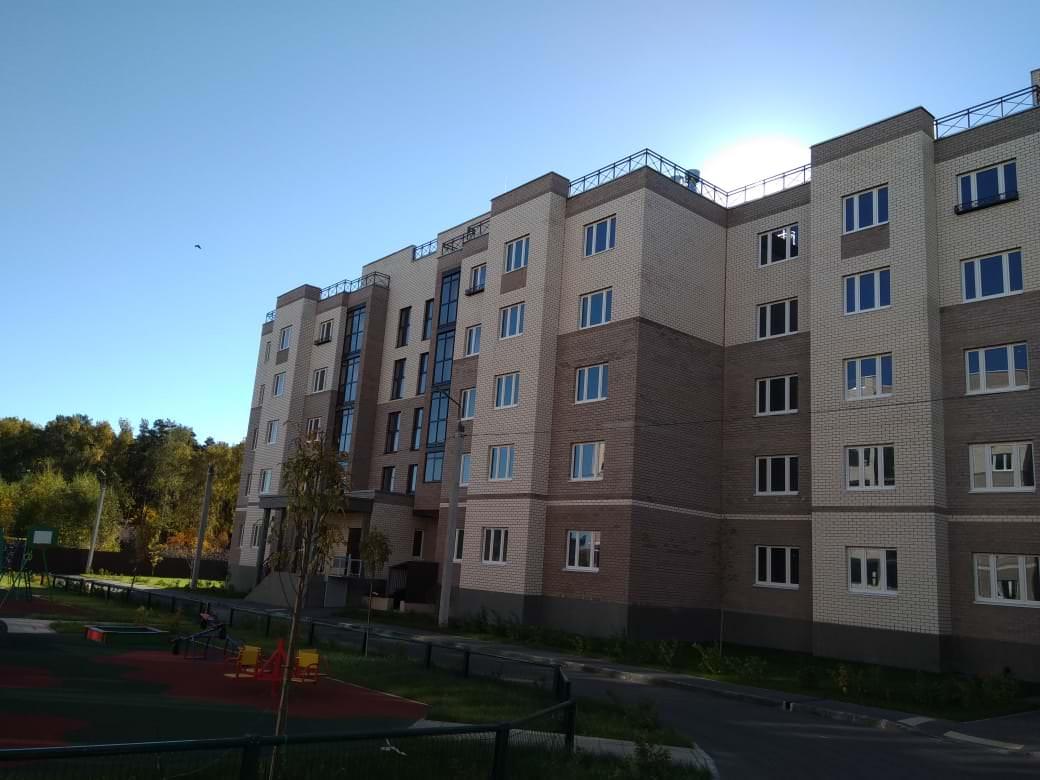 korpus 1 2 - 22 октября 2018 / Дом 1 - Строительство завершено. Произведен пуск отопления.