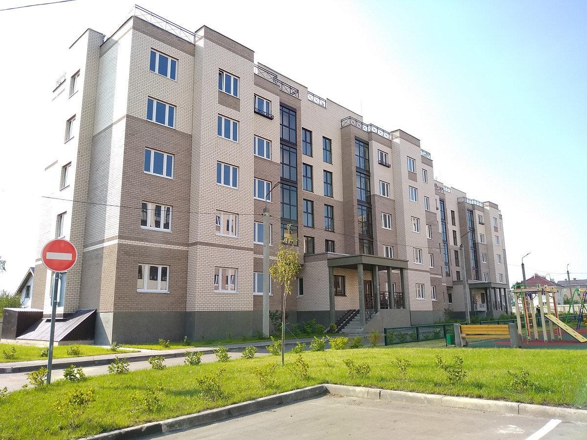korpus 1 - 22 сентября 2018. Дом 1 - Строительство завершено, получен ЗОС.