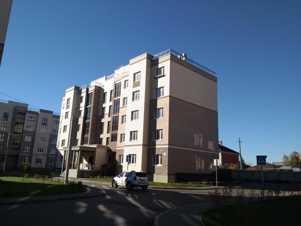 korpus 2 1 - 14 октября 2018 / Дом 2 - Строительство завершено, получен ЗОС.