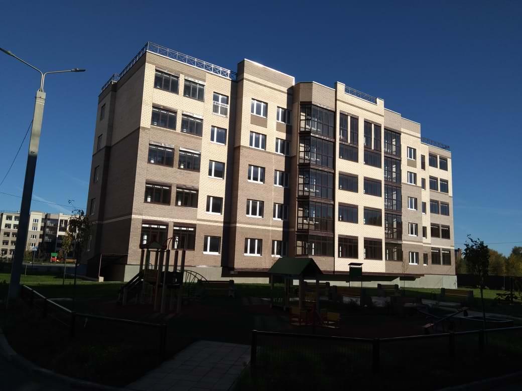 korpus 3 1 - 14 октября 2018 / Дом 3 - Строительство завершено, получен ЗОС.