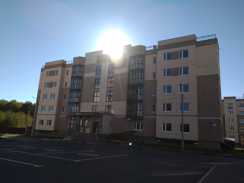 korpus 3. 1 - 22 октября 2018 / Дом 3 - Строительство завершено. Произведен пуск отопления.