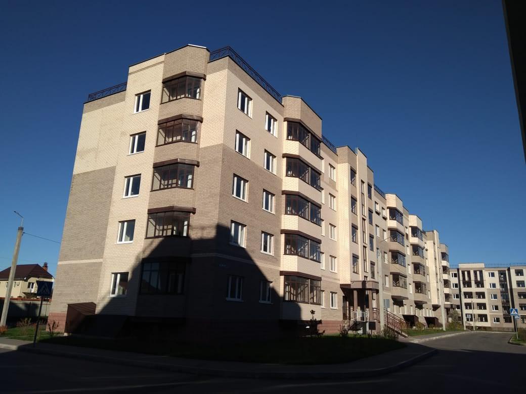 korpus 4 - 14 октября 2018 / Дом 4 - Строительство завершено, получен ЗОС.