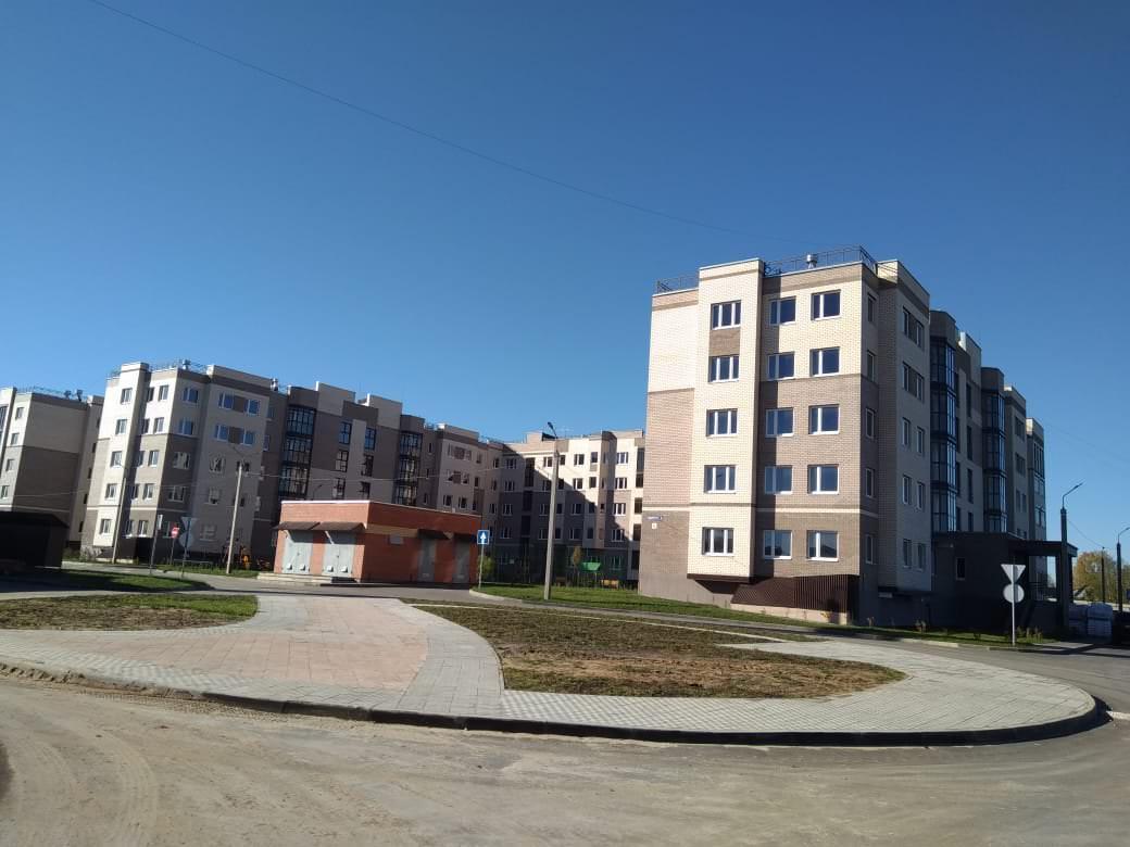 korpus 6 2 - 22 октября 2018 / Дом 6 - Строительство завершено. Произведен пуск отопления.
