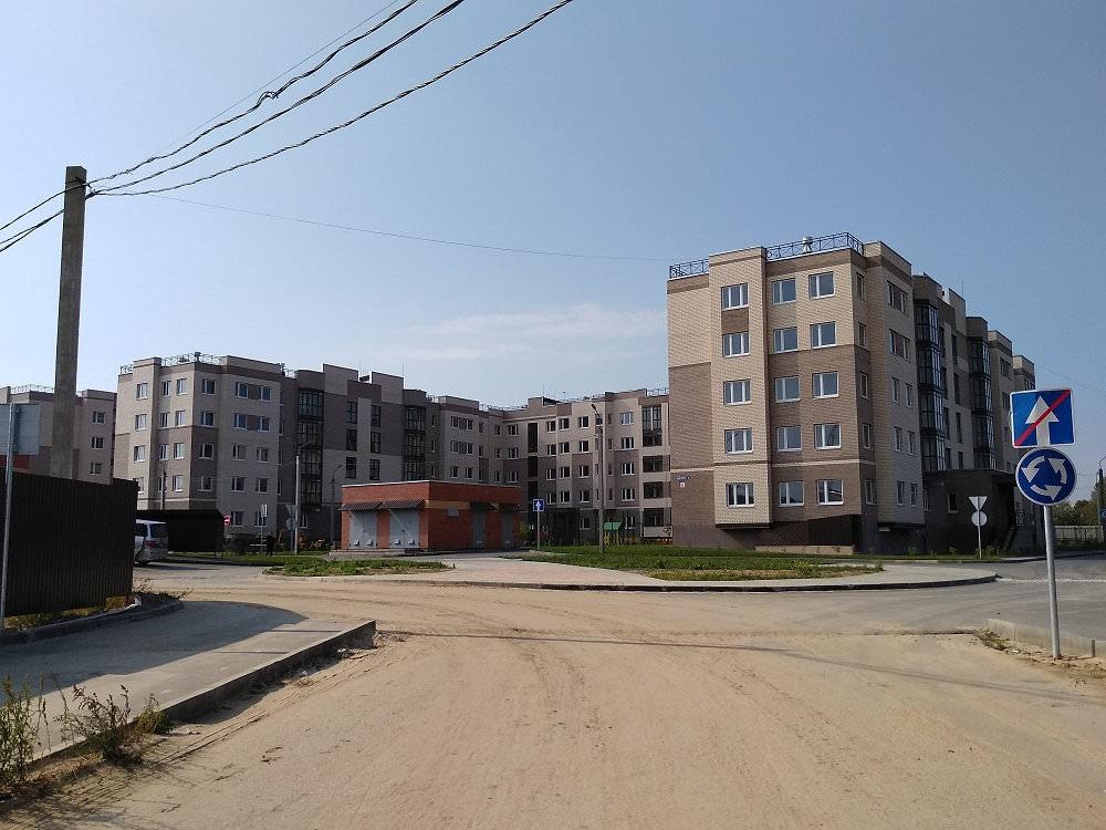 korpus 6 - 22 сентября 2018 / Дом 6 - Строительство завершено, получен ЗОС.