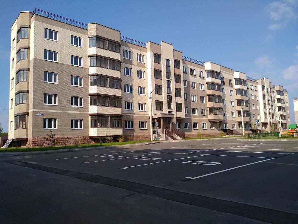 korpus4 - 22 сентября 2018 / Дом 4 - Строительство завершено, получен ЗОС.