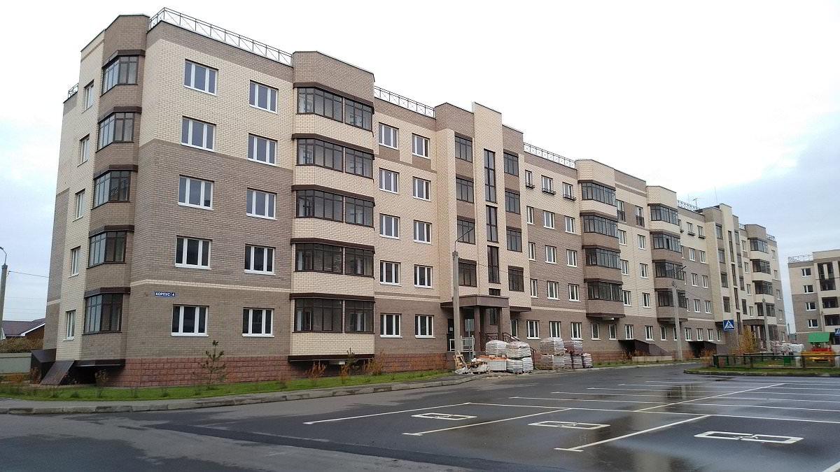 korpus 4 - 3 ноября 2018 / Дом 4 - Строительство завершено. Произведен пуск отопления.