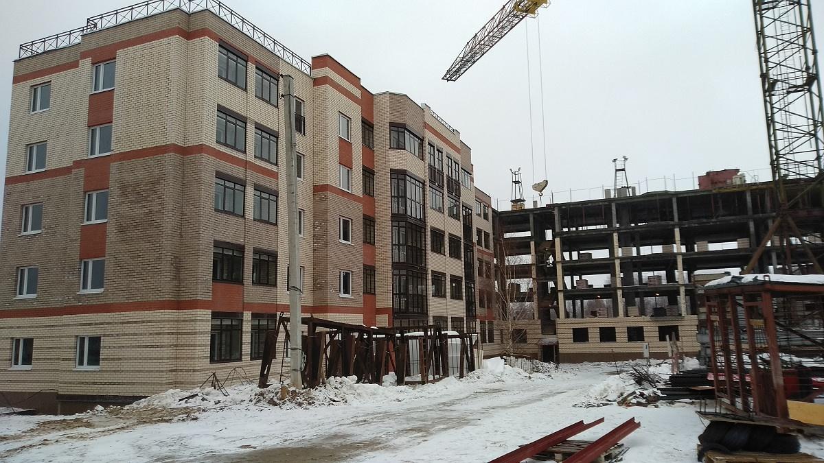 korpus 8. - Дом 8 - Завершен монтаж конструктива здания
