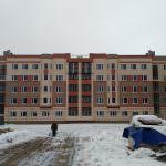 korpus10  150x150 - Дом 11 - Установлены фасадные панели цокольного этажа