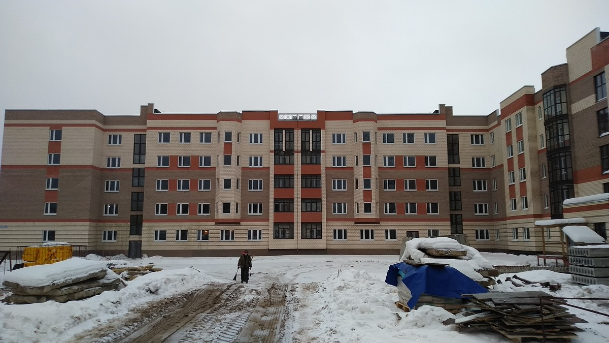 korpus10  - Дом 10 - Производятся электромонтажные работы в МОПах
